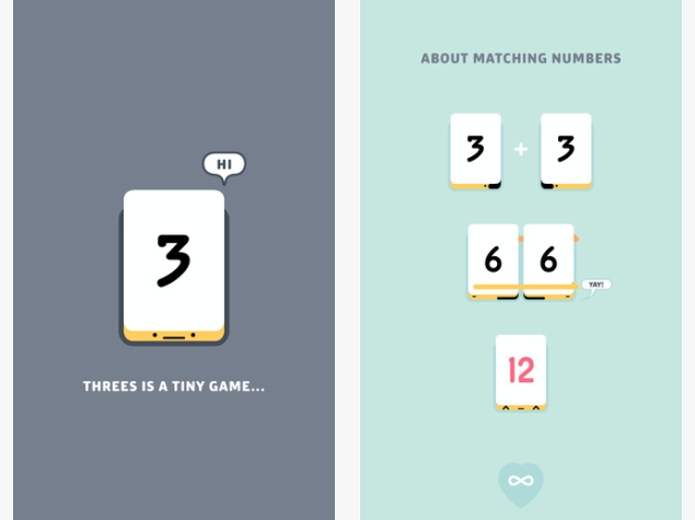 Apple Game of the Year Threes! Goes Free