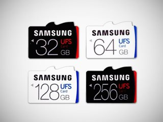 Samsung Unveils UFS Cards, Successor to the Beloved microSD Standard
