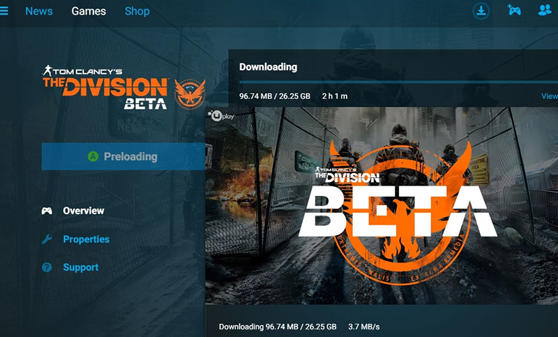 Tom Clancy's The Division Beta Size Revealed: Report