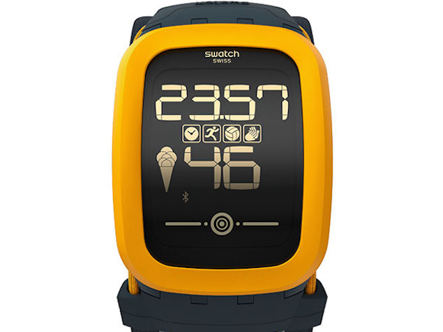 Swatch Touch Zero One Smartwatch for Beach Volleyball ...