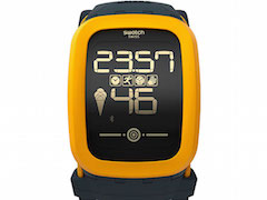 Swatch Touch Zero One Smartwatch for Beach Volleyball Launched