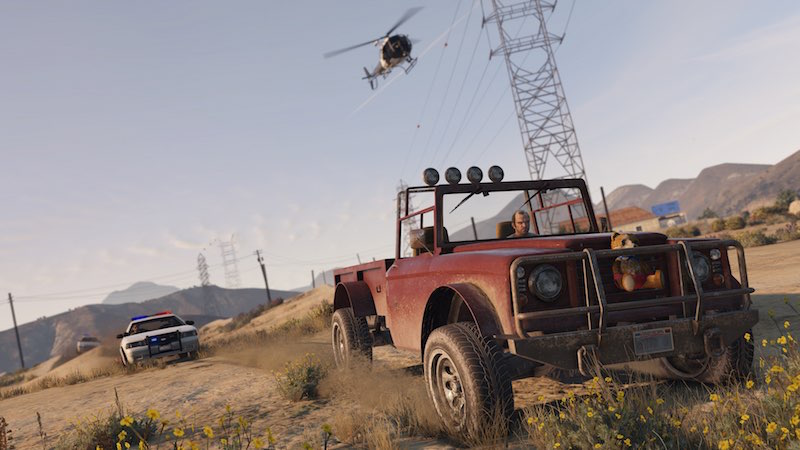 GTA Online Updated, PS4 and Xbox One Versions Get Rockstar