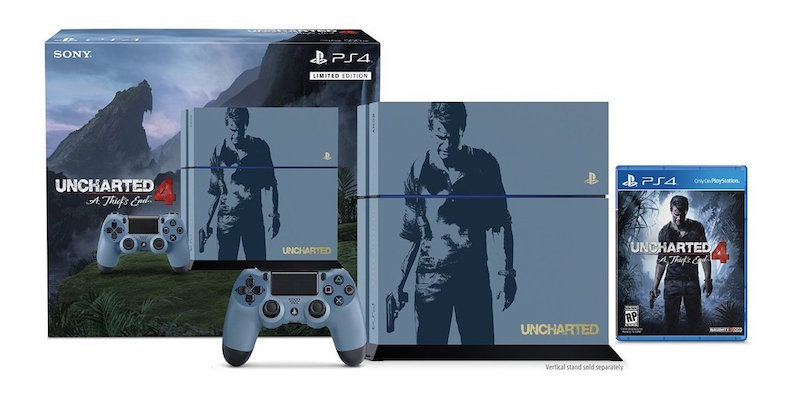 Uncharted 4 Limited Edition PS4 Bundle Revealed