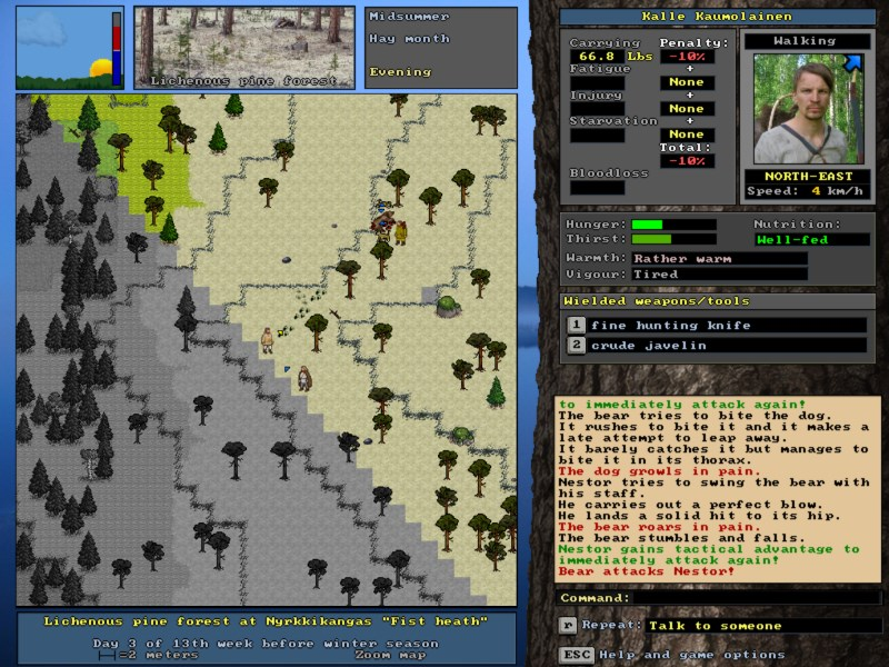 24-Year-Old Game 'UnReal World' Gets Steam Release This Week