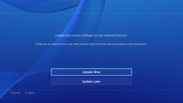 how to update your ps4 ndtv gadgets360