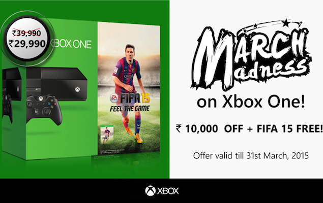 Xbox One Price in India Slashed to Lowest Since Launch