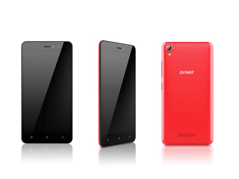 Gionee Pioneer P5W With 5-Inch Display Launched at Rs. 6,499