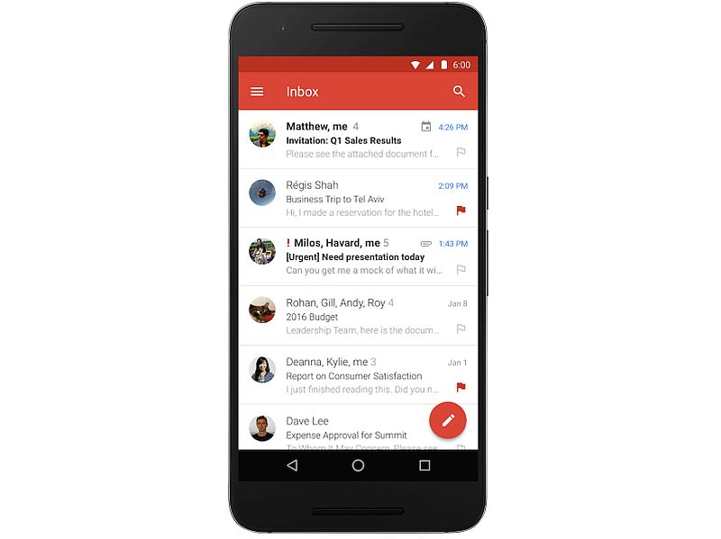 Gmail for Android Gets Microsoft Exchange Support on Non-Nexus Devices