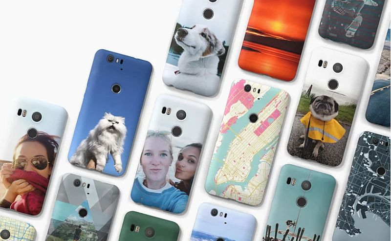 Google Launches Custom Live Cases for Nexus Smartphones
