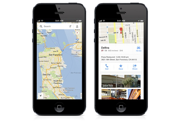 google maps app for iphone maps now lets you send directions to iphone from 17002
