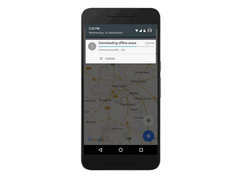 Google Maps Now Available Offline in India With Turn-by-Turn ... on