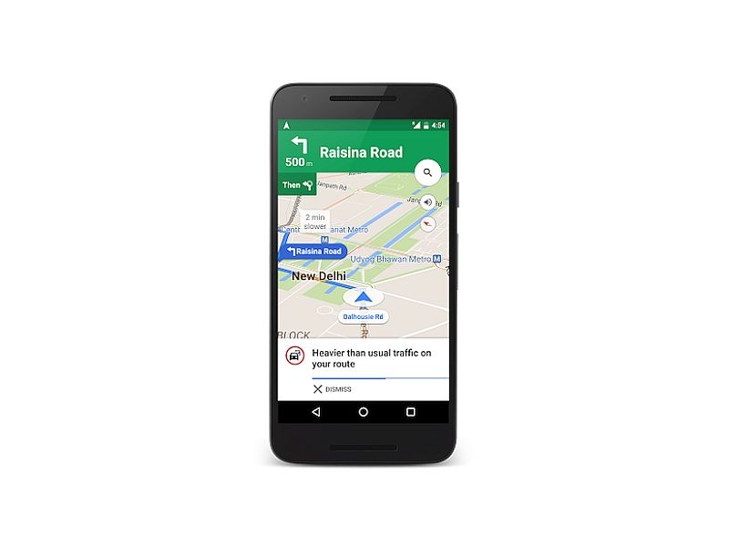Google Maps for Android, iOS Now Offers Traffic Alerts in India