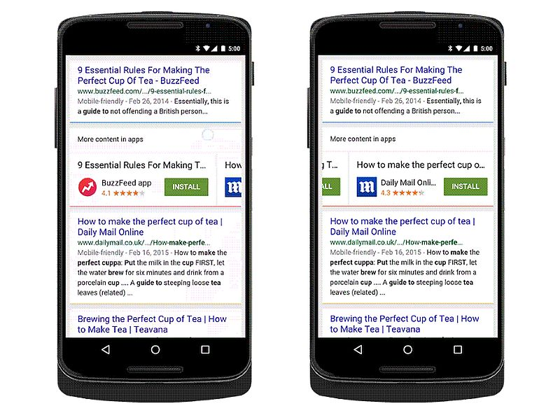 Google Now Lets You Install Apps Directly From Search