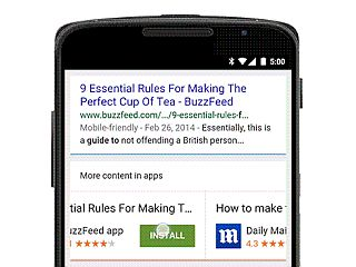 Google Now Lets You Install Apps Directly From Search Results