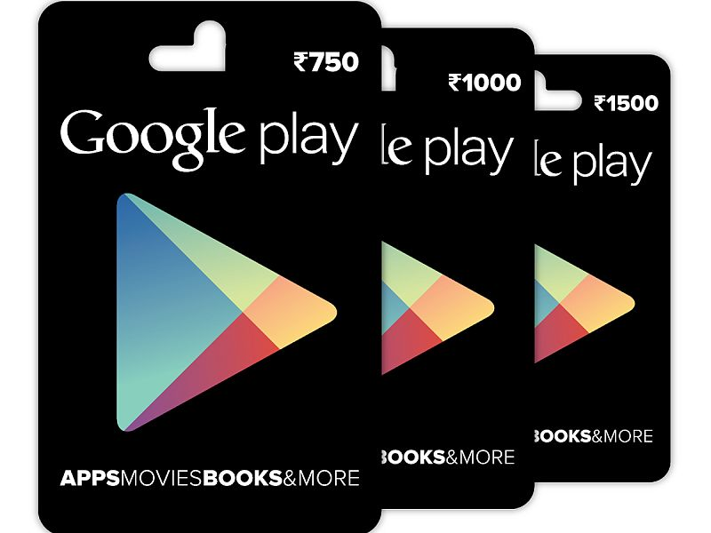 Google Play Gift Cards Now Available via Snapdeal, More Physical Stores