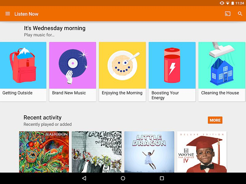 Google Play Music for Android Updated With Improved