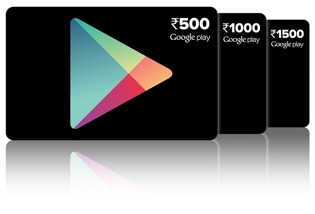 Google Play Prepaid Vouchers Now Available in India