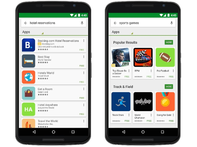 Google Play Starts Showing Sponsored Apps in Search Results