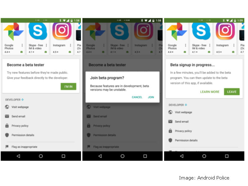 Google Play Store Update Makes It Easier to Sign Up for App