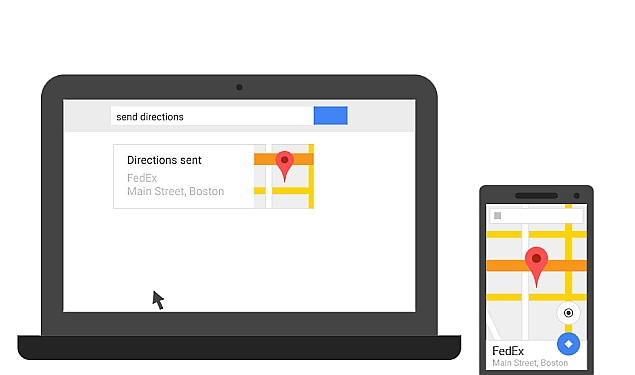 Now Send Directions to Your Android Phone From Desktop