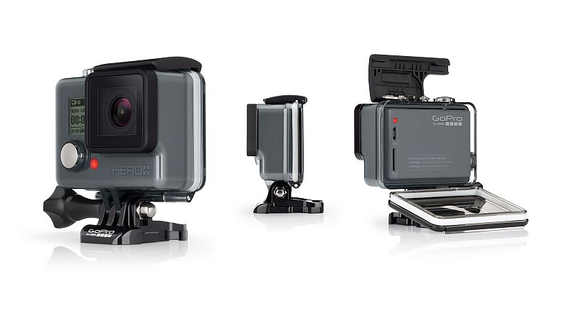 GoPro Hero+ Wi-Fi Action Camera With 8-Megapixel Sensor Launched