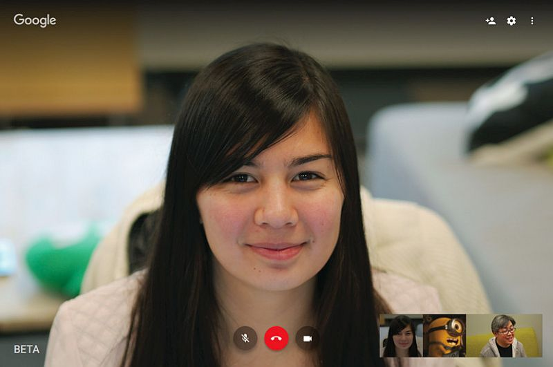 Google Hangouts for Web Updated With Streamlined Look and More