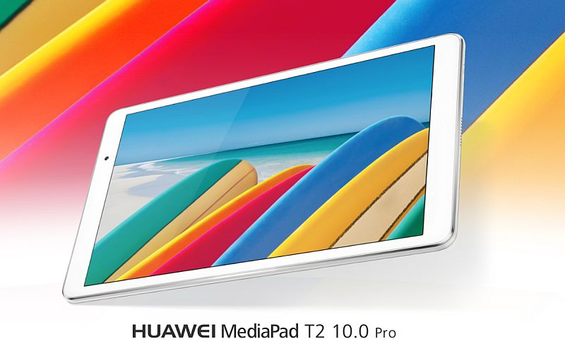 Huawei MediaPad T2 10.0 Pro With Qualcomm Snapdragon 616 SoC Goes Official