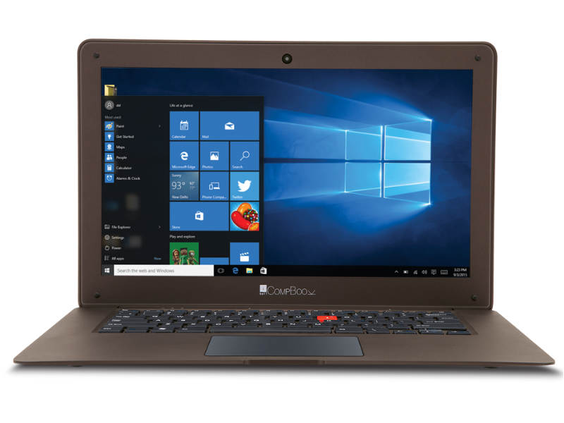 iBall CompBook Excelance, CompBook Exemplaire Windows 10 Laptops Launched