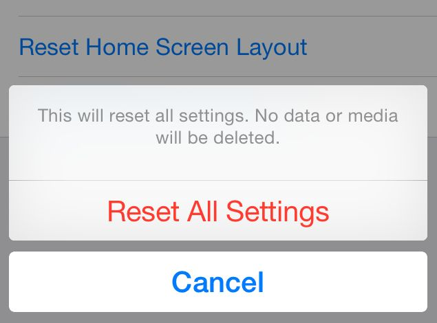 iOS 8's 'Reset All Settings' Option Deletes iWork Data, Users Report
