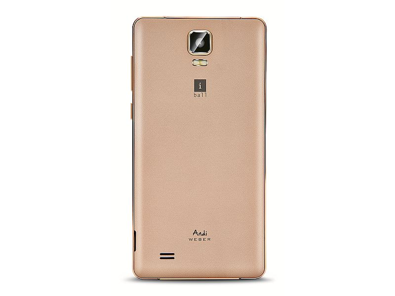 iBall Andi 5.5H Weber With 5.5-Inch Display Launched at Rs. 6,499