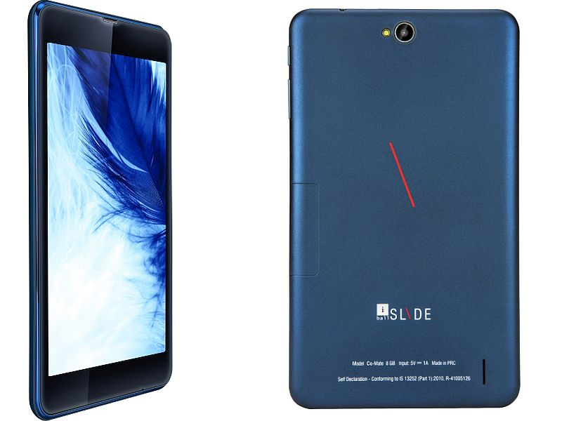 iBall Slide Co-Mate Voice-Calling Tablet Now Available Online at Rs. 6,999