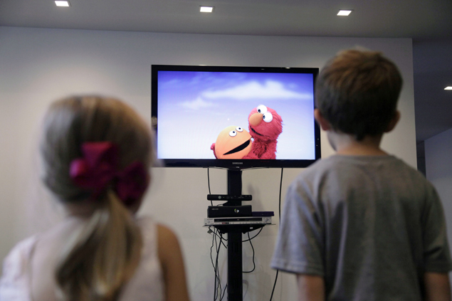 Sesame Street goes interactive on Kinect