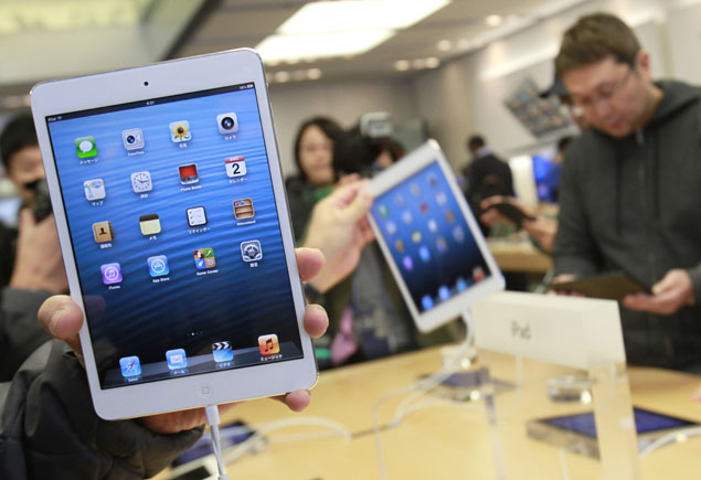 Apple rolls out iPad mini in Sydney to shorter queues