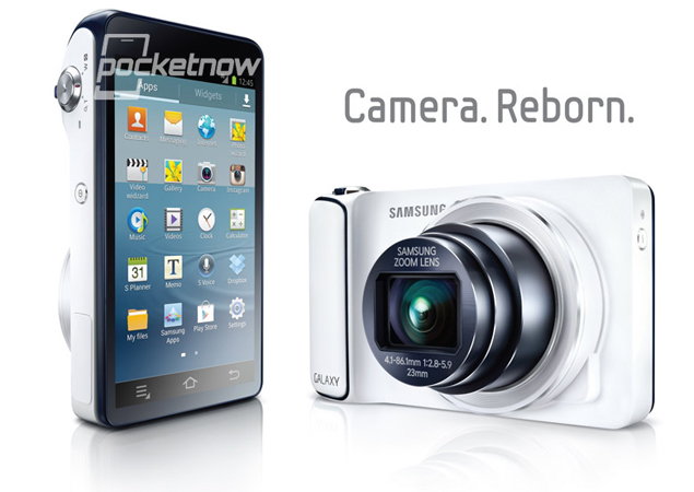 Samsung Galaxy Camera revealed ahead of launch