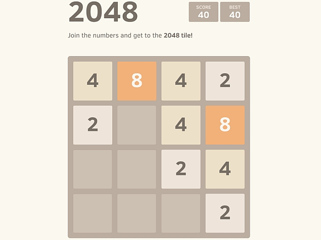 2048: Newest contender for 'most addictive game' since Flappy Bird flew away