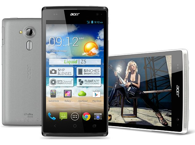 Acer Liquid Z5 phone, Iconia A1-830 and Iconia B1-720 tablets launched