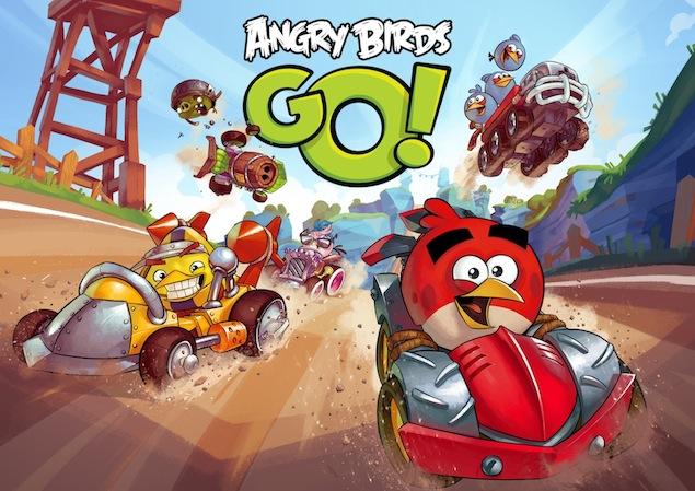 Angry Birds Go! gameplay trailer released, arriving December 11 for free