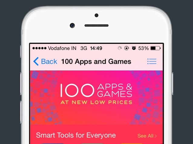 Apple Showcases 100 Apps and Games That Can Be Purchased at Rs  10