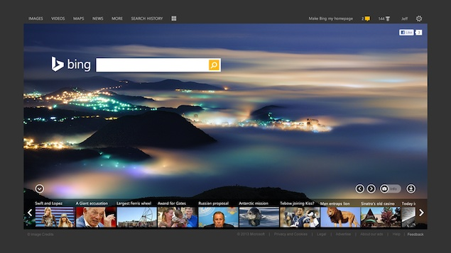Microsoft redesigns Bing logo and user interface to challenge Google