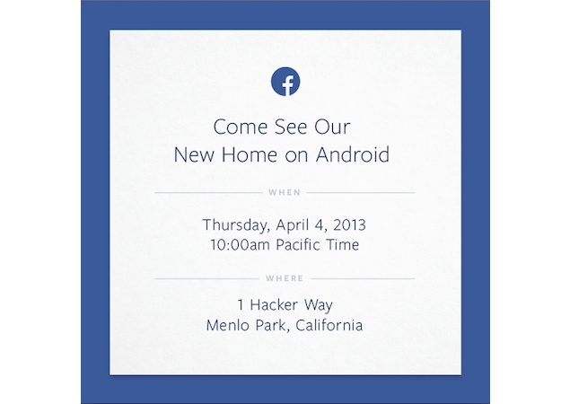 Facebook reportedly aiming for a place on Android home-screen