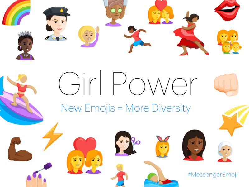 Facebook Messenger Gets 1,500 New Emojis in Diversity Drive