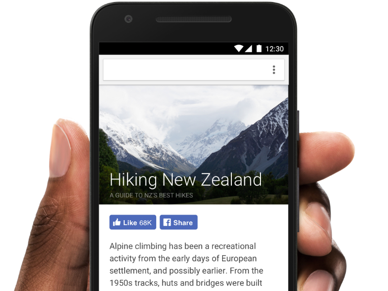 Facebook Redesigns Like, Share, and Follow Buttons; Launches Share and Save Chrome Extensions