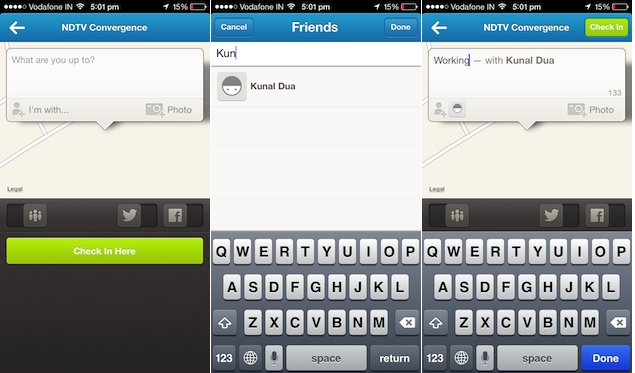 Foursquare updates iOS and Android apps bringing the ability to check-in your friends