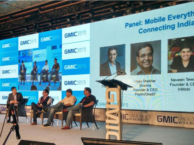India Not a Winner-Take-All Market, Says Paytm's Vijay Shekhar Sharma at GMIC 2015
