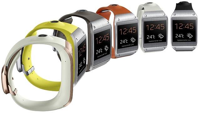First look: Samsung Galaxy Gear