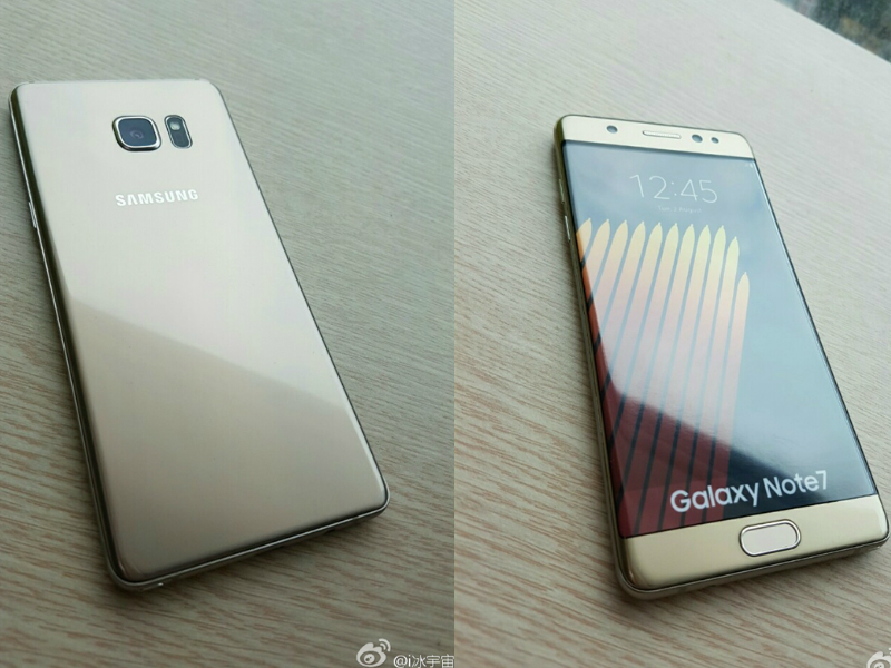 Samsung Galaxy Note7 Leaked Images Appear Hours Before Launch