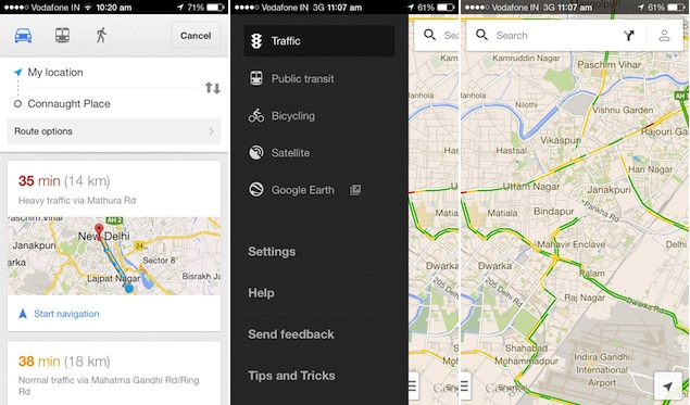 Google Maps and YouTube apps for iOS get updated