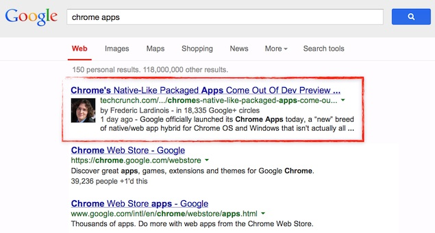 Google Search Results Will No Longer Show Authorship