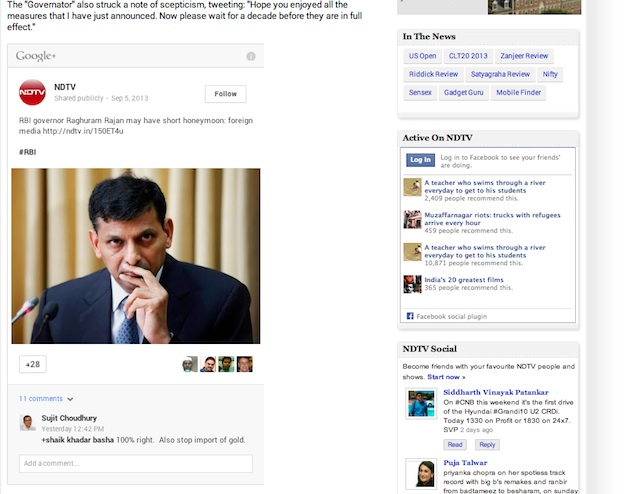 Google+ enables public post embeds, integrates Sign-ins with Authorship program