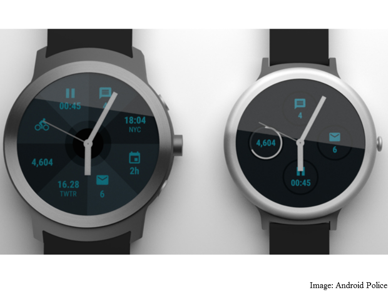 Google's Android Wear 'Angelfish', 'Swordfish' Smartwatches Leaked in Images